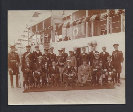 Antique Unpublished Photo Prince of Wales King Edward VIII Duke of Windsor Japan